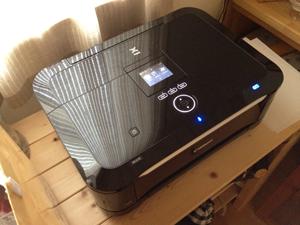Wi-FiプリンタとiPhoneで印刷や書類の持ち運びが便利になった