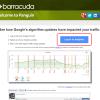 【捕捉されてた】パンダとペンギンの影響度を確認するウェブサービス【Panguin】の使い方