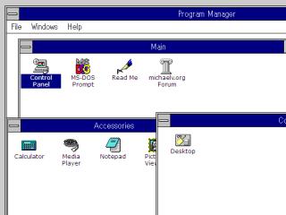 JavaScriptだけでWindows3.1をエミュレートしちゃったというウェブサービス