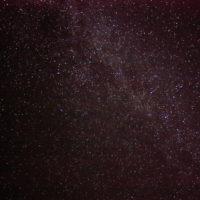 美しい星空。鷹栖パレットヒルズにて