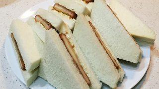 日本一を呼びこむチーズハムカツサンドの作り方を宇宙一わかりやすく解説しますょ